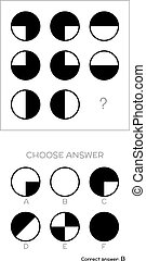 IQ test. Choose answer