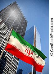 irán, nemzeti lobogó