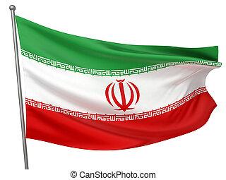 irã, bandeira nacional