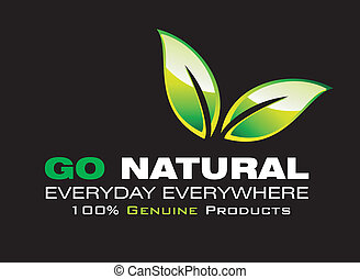 ir, ambiente, natural, tarjeta