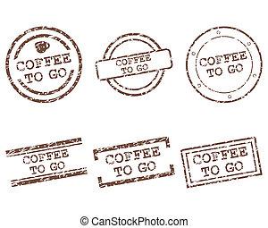 ir, café, selos