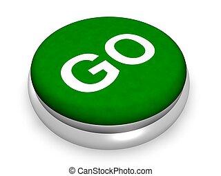 ir, concepto, botón