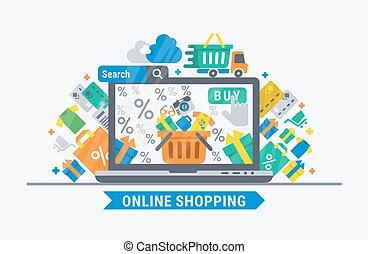 ir de compras en línea directa
