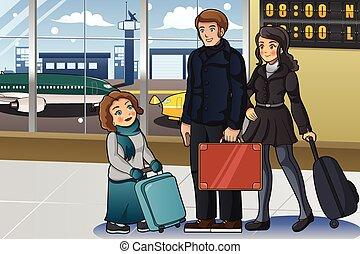 ir, férias, família