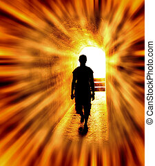 ir, luz, direção