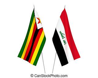 irak, bandery, zimbabwe