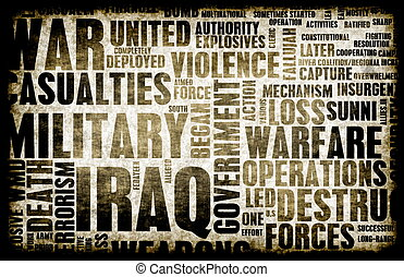 irak, krig