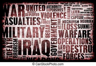irak, wojna