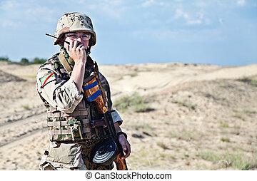 iraki, katona