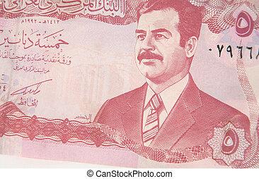 irakisk, dinar, 2