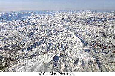 iran aerial view