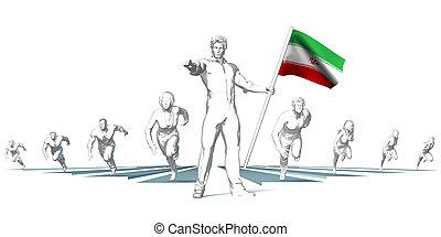 Iran Racing to the Future