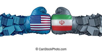 Iran United States Economic Fight