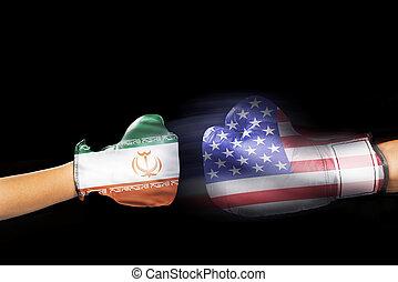 Iran vs America.
