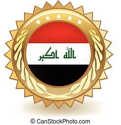 Iraq Badge
