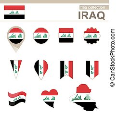 Iraq Flag Collection