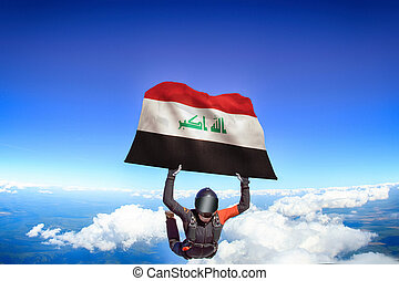 Iraq flag travel.