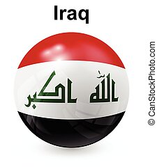iraq official state flag