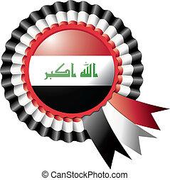 Iraq rosette flag