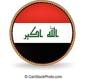 Iraq Seal - Flag seal of Iraq.