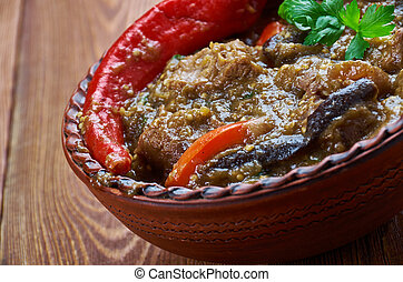 Iraqi Lamb and Eggplant Stew