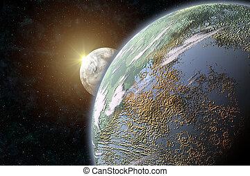 irdisch, planet