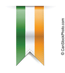 ireland banner illustration design