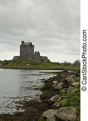 Ireland castle in vertical position