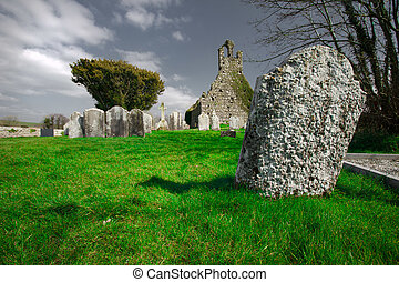 Ireland Church - Ireland ancient church ruins