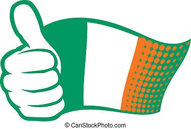 Ireland flag (Flag of Ireland)