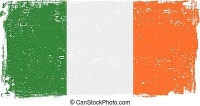 ireland flag vector.eps - Ireland vector grunge flag...