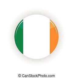 Ireland icon circle