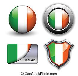 Ireland icons - Ireland flag icons theme.