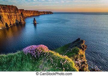 Ireland Irish world famous tourist attraction in County...