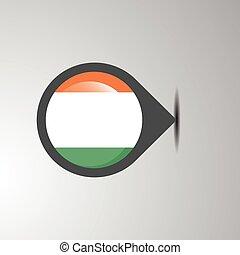 Ireland Map Pin