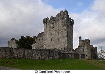 Ireland's Ross Castle Made of Stone in Killarney National Park