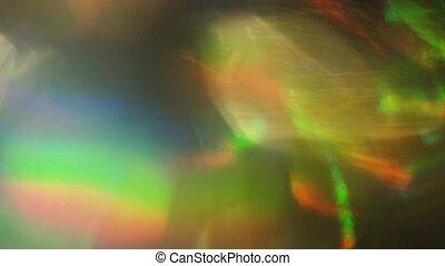 Iridescence, holographic foil, futuristic color mix, dreamy...