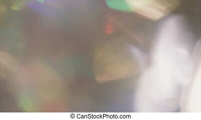 Iridescent abstract background, soft organic gently bokeh,...