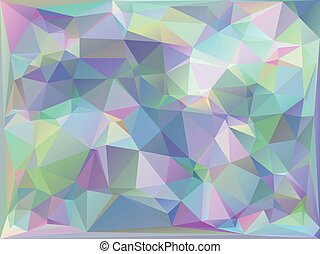Iridescent Geometric Background