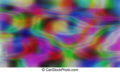 iridescent holographic multicolor background, ripples wavy...