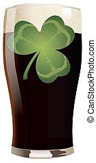 irisch, korpulent