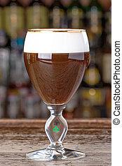 Irish coffee alcoholic cocktail
