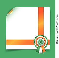 Irish document template