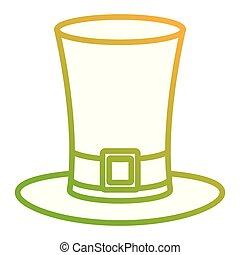 Irish elf hat saint patrick celebration