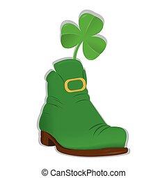 Irish elf shoe