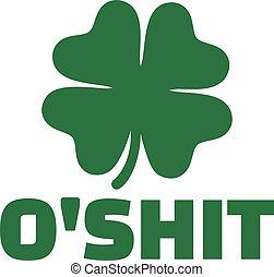 Irish humor - o'shit