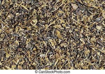 Irish moss seaweed - Background of dried Irish moss seaweed...