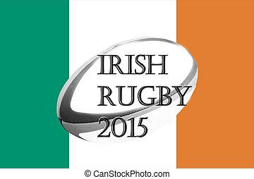 Irish rugby flag