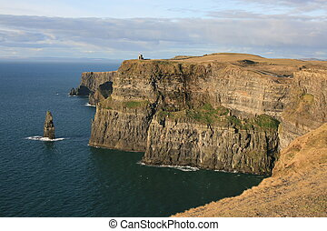 Irish sea cliffs