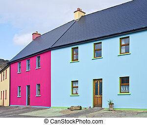 Irish Village Houses